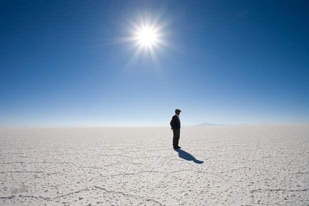 Солончак Уюни, Боливия.