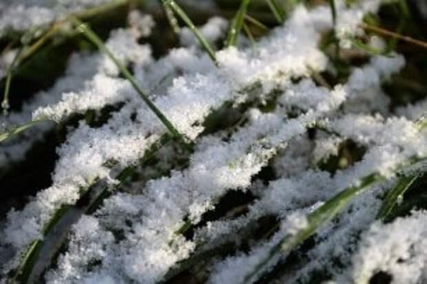 Погода на 24 октября: небольшой снег