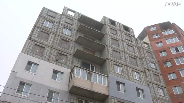 «Кучу кредитов набрали»: во Владивостоке дольщики ждут достройки дома28 лет