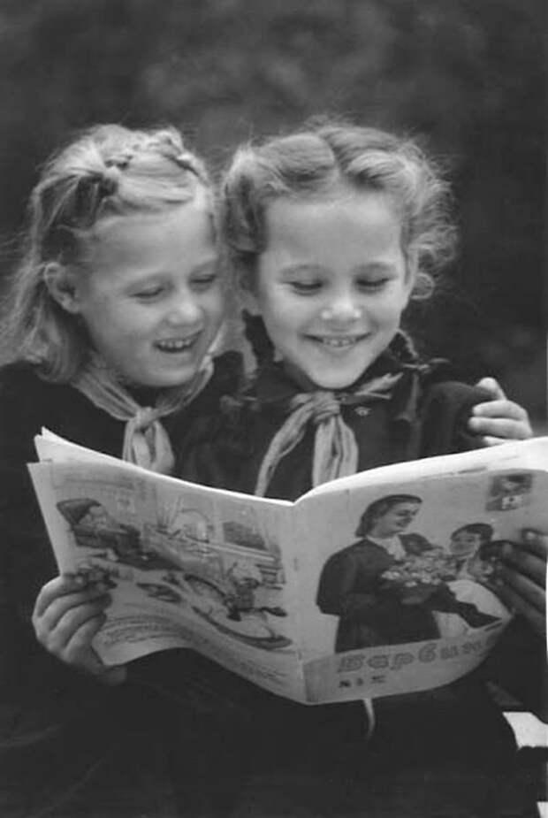 Детский журнал БАРВИНОК СССР, детство, фотографии