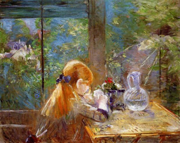 Веранды и террасы в живописи