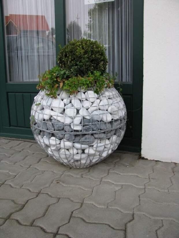 дизайн камней в саду