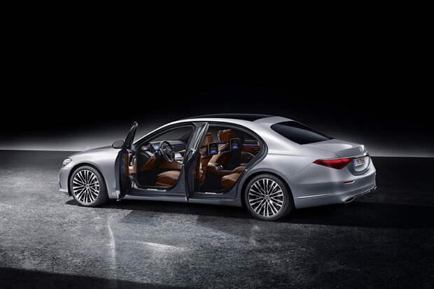Новый Mercedes-Benz S-class