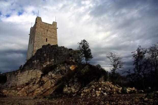 Абхазия. Анакопийская крепость: место, где замерла история