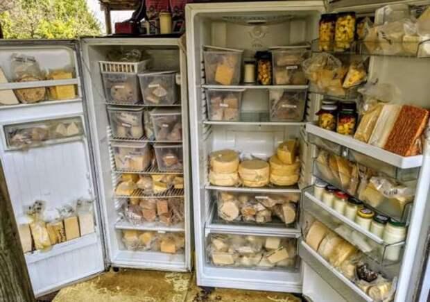 20+ королей холодильников и кладовок, чьи запасы разрослись до фантастических размеров