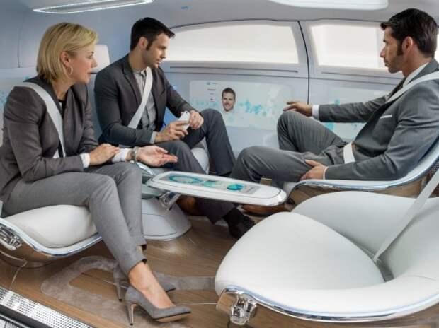 Mercedes-Benz представил революционный «беспилотник» (ВИДЕО)