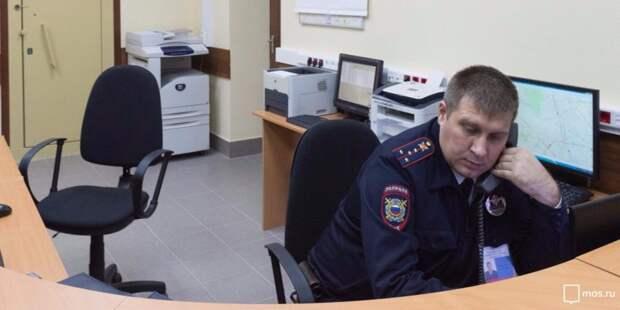 Вора мотокофра в Новоподмосковном переулке задержали стражи порядка
