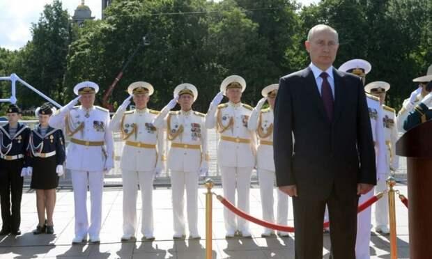 Западные СМИ и их читатели о параде ВМФ России