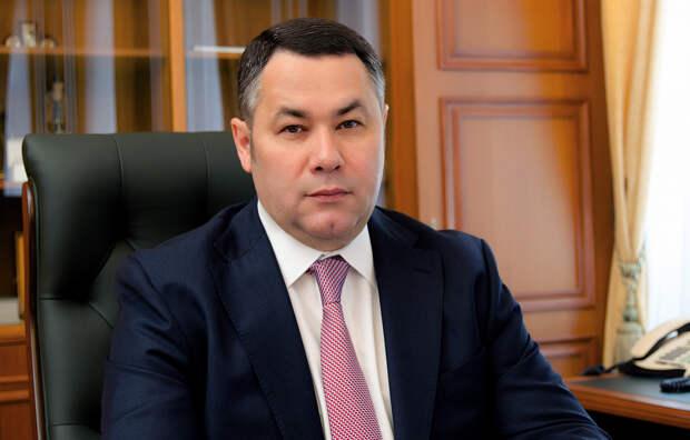 Игорь Руденя поздравил жителей Кимр с Днём города