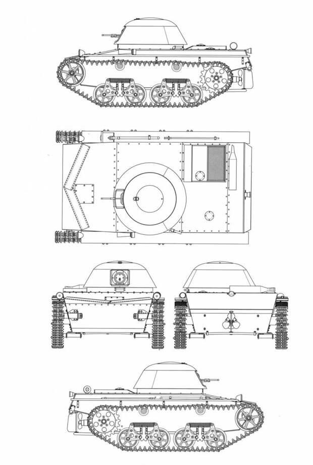На рисунке - так должен был выглядеть Т-37Б Исто́рия, военное, плавающие танки, советские танки, танки, танки РККА