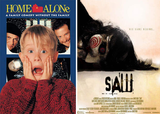 Новый флешмоб: пользователи ищут пары фильмов, которые можно описать одной фразой