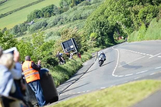 Дроны могут стать причиной остановки гонок Isle of Man TT