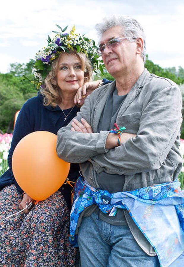 Ирина Алфёрова и Сергей Мартынов