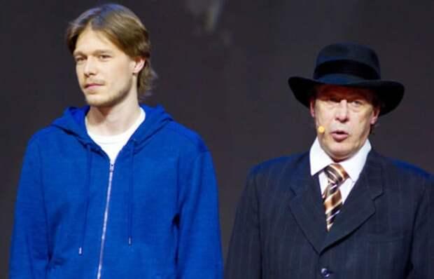 Никита Ефремов с отцом | Фото: mirnov.ru