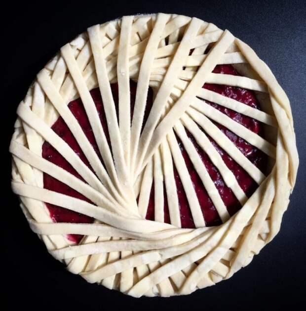 Как красиво оформить пирог 5
