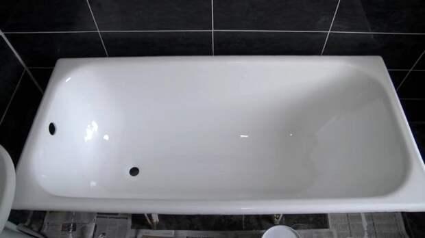 Восстановление ванны жидким акрилом своими руками