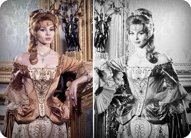Пробы Мишель Мерсье на роль Анжелики.1963 год.