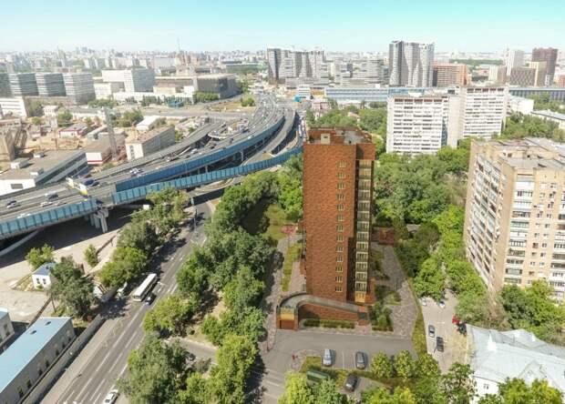 Дом рассчитан на 102 кв/артиры// проектное решение, предоставлено Департаментом строительства г. Москвы