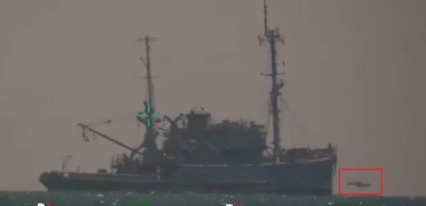 Испытания турецкой противокорабельной ракеты