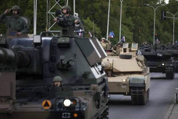 FAZ: Танки НАТО застревают в туннелях на пути в Прибалтику