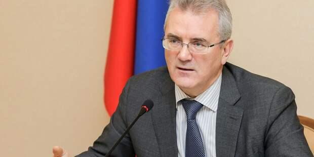 Губернатору Белозерцеву предъявили обвинение