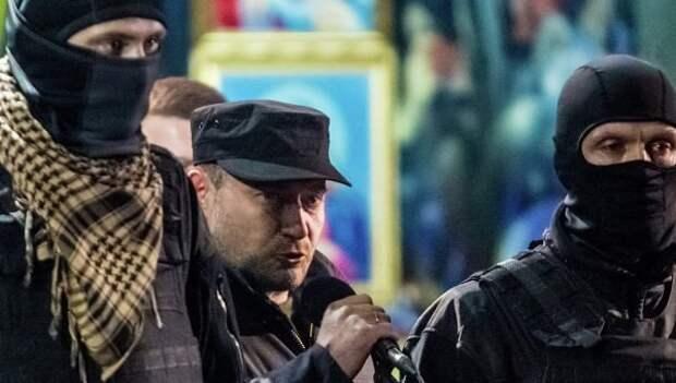 """""""Правый сектор"""" совершил нападение на еврейский центр """"Менора"""" в Днепропетровске"""