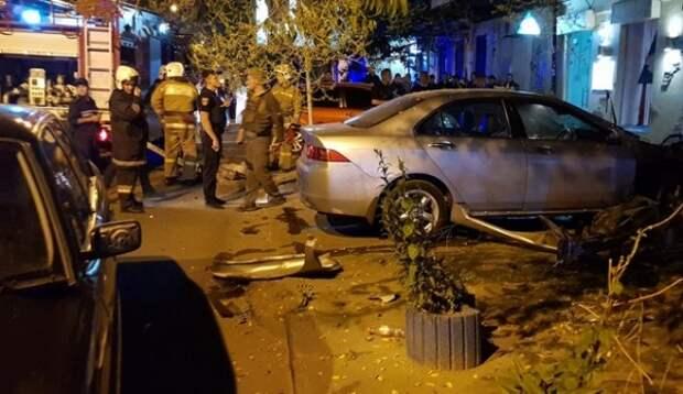 Вцентре Одессы взорвался заминированный автомобиль