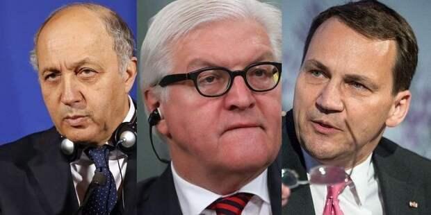 Министры иностранных дел России, Германии, Франции и Украины начали переговоры