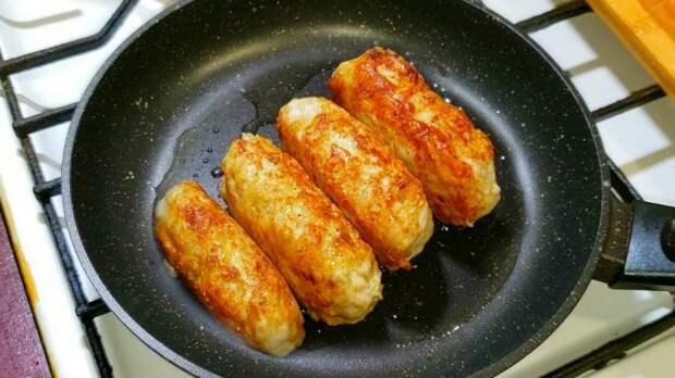 Вкусные котлетки с начинкой: теперь любимый мой рецепт