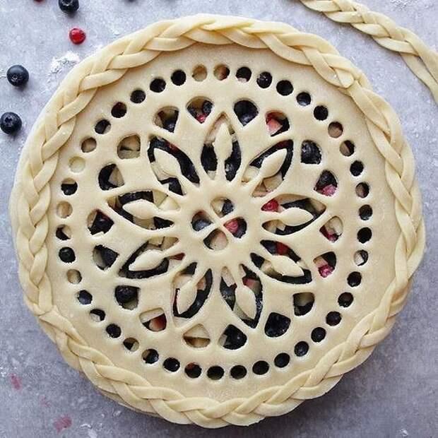 Как красиво оформить пирог 2