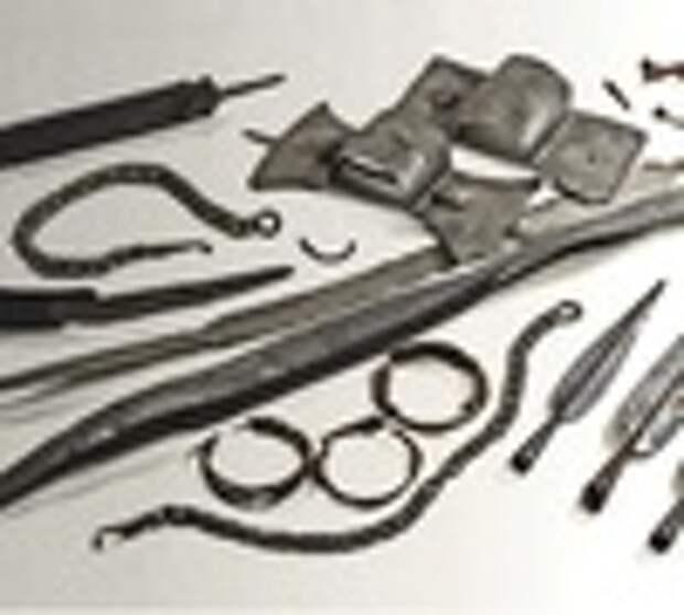 Скандинавские клады оружия. 1-3 части