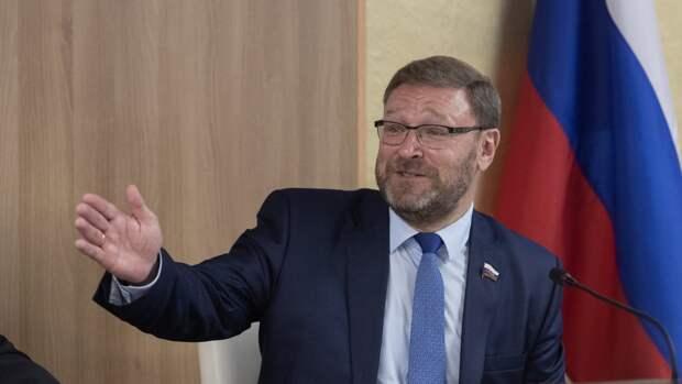 Константин Косачев ответил на угрозы Берлина о санкциях против «Северного потока — 2»