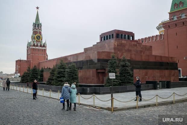 Парк «Зарядье». Москва, мавзолей ленина, кремль