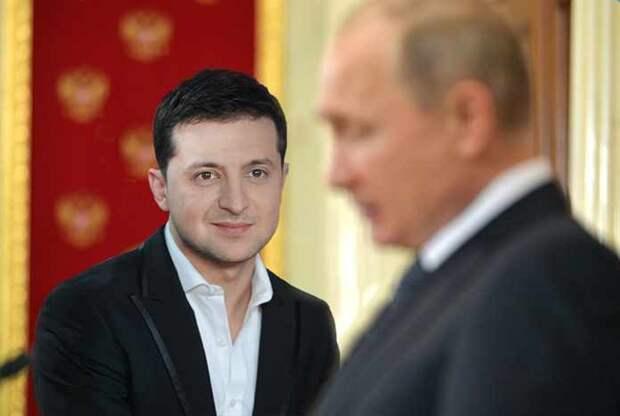 Путин рассказал выскочке Зеленскому, при каких условиях Москва возобновит диалог с Киевом