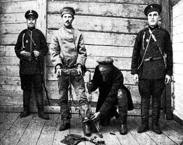 Тюрьма, Россия, конец 19 века
