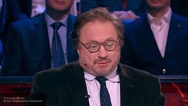 Соловьев напомнил американскому эксперту о ГДР, сравнив слияние двух Германий с воссоединением Крыма и РФ