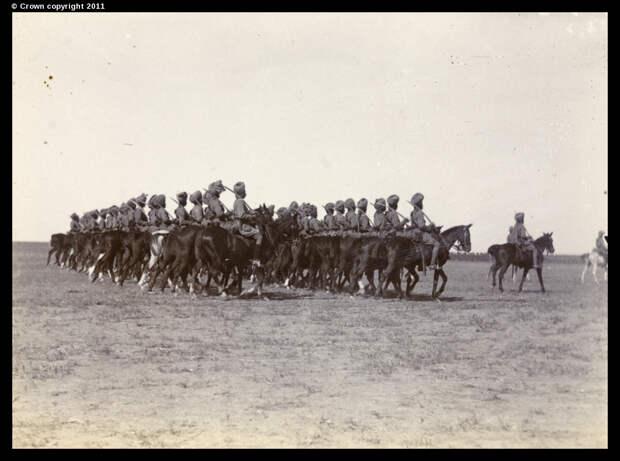 Бомбейская конница на параде