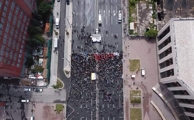 Митинг оппозиции собрал в Москве всего около 500 человек