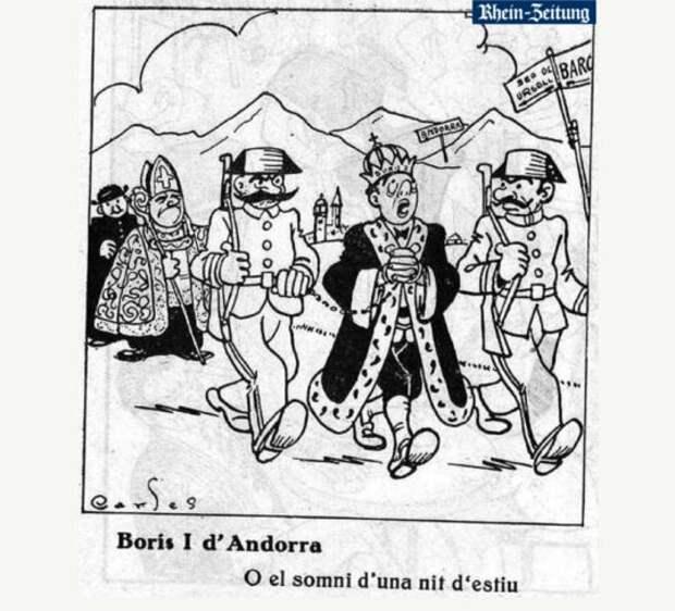 Авантюрист Борис Первый: как русский эмигрант покорил европейцев и стал королем Андорры