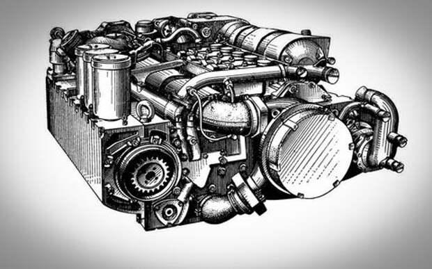 Плоский двигатель — изобретение наших мотористов