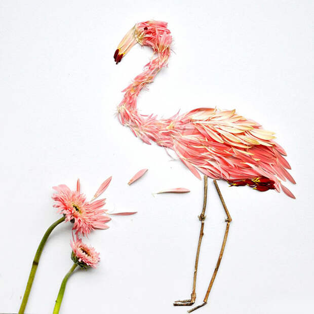 Цветочный креатив Хонг Йи