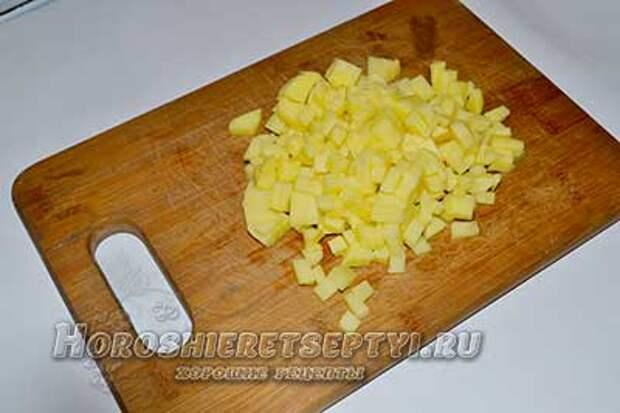 Манты с картошкой и свининой