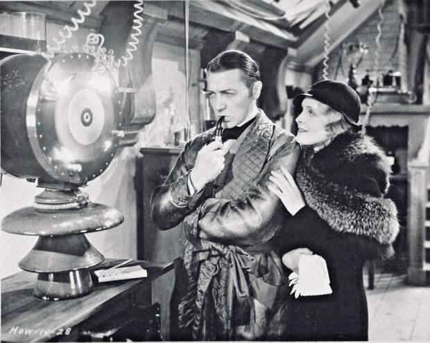 Клайв Брук иМириам Джордан вфильме «Шерлок Холмс». Режиссер Уильям К. Ховард, 1932год. Источник: imdb.com