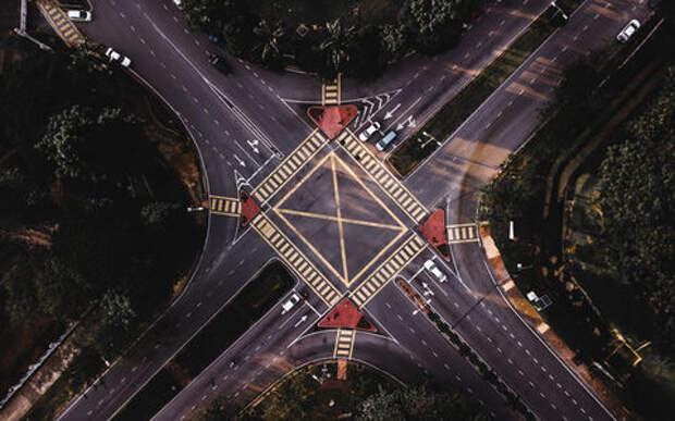 В России по-новому будут делать перекрестки