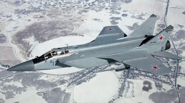 Быстрый и опасный: в США оценили перспективы истребителя МиГ-31