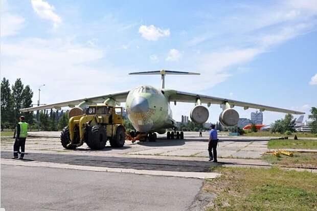 Первый Ил-76МД90-А отправлен на летно-испытательную станцию