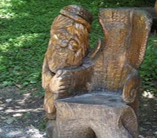 деревянная скамейка для дачи