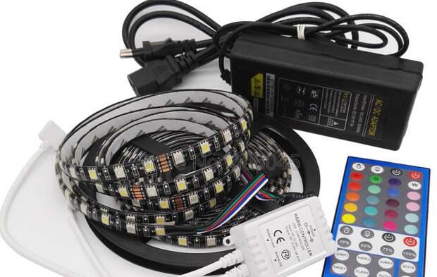 Как выбрать блок питания для светодиодной ленты на AliExpress