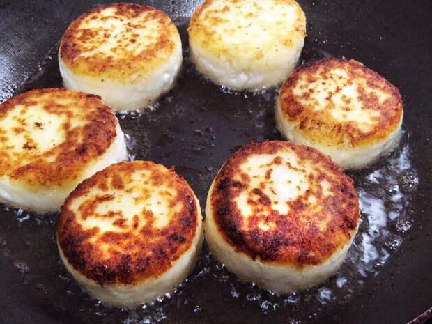 Сырники на рисовой муке (секрет идеальных сырников)