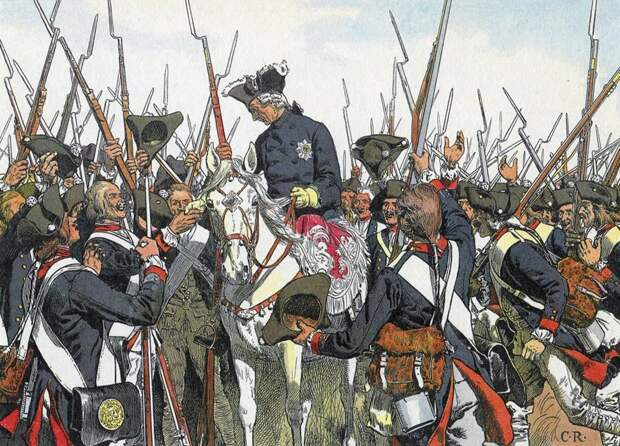 Выйти из мешка и победить: как ирландский пьяница помог Фридриху II
